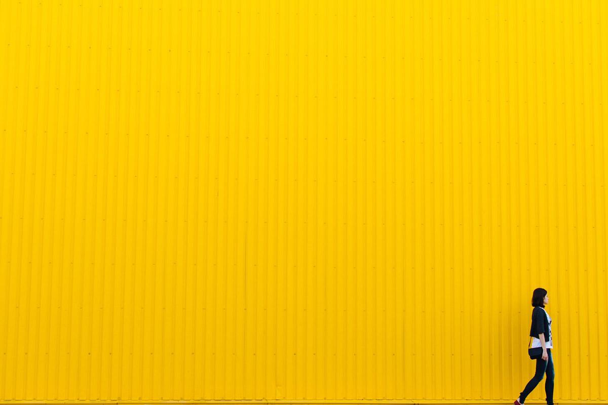 Gelb Streetstyle Modetrends