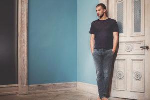 Die graue Jeans