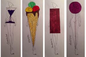 Die neuen Figurtypen: Backstein, Sanduhr, Lollipop, Eistüte