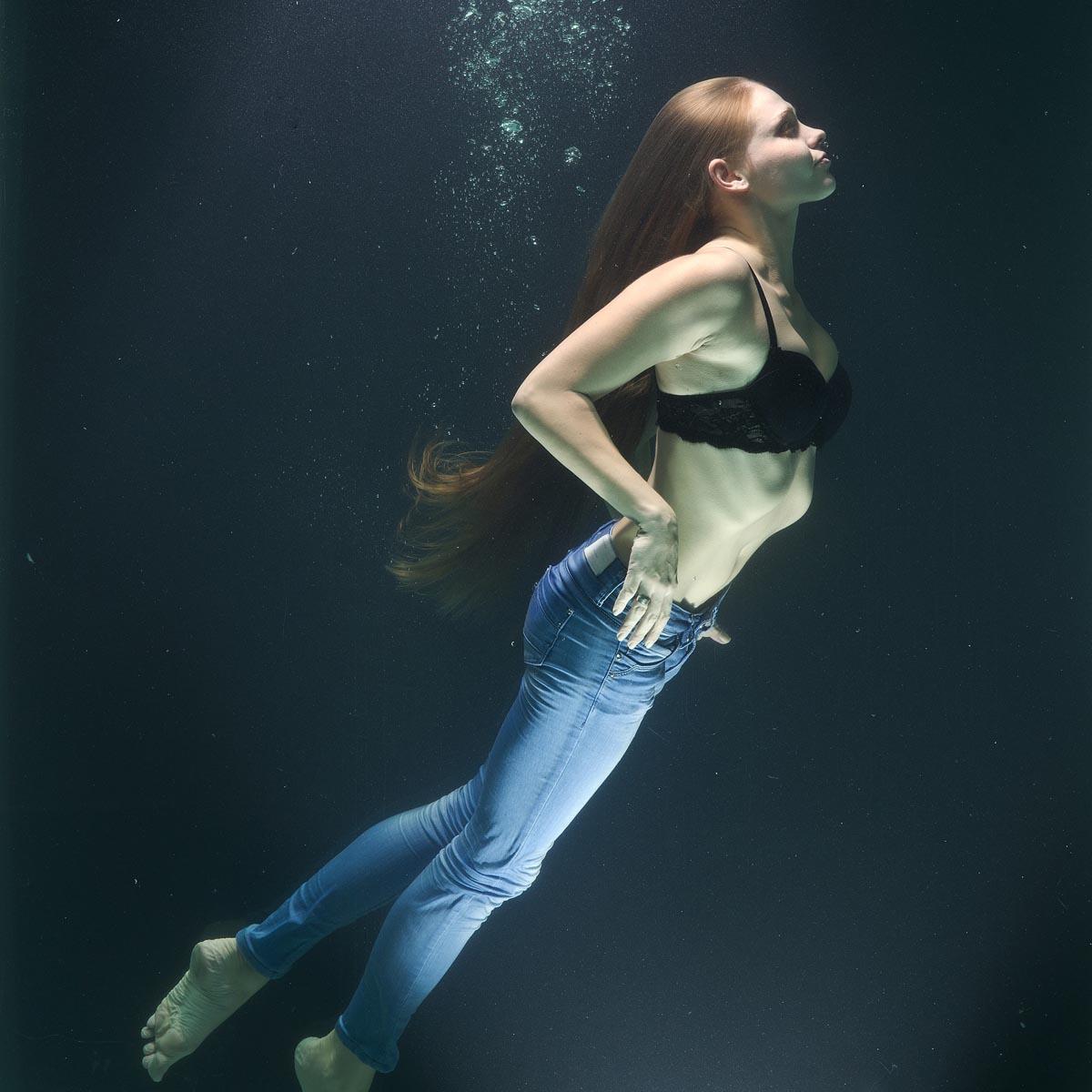 Jeanshose Unterwasser BH