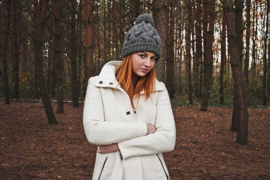 Manteltrend Mantel Weiß