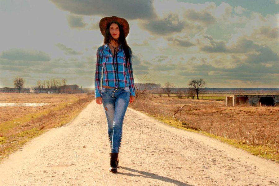 Cowgirl Cowboylook Westernstyle