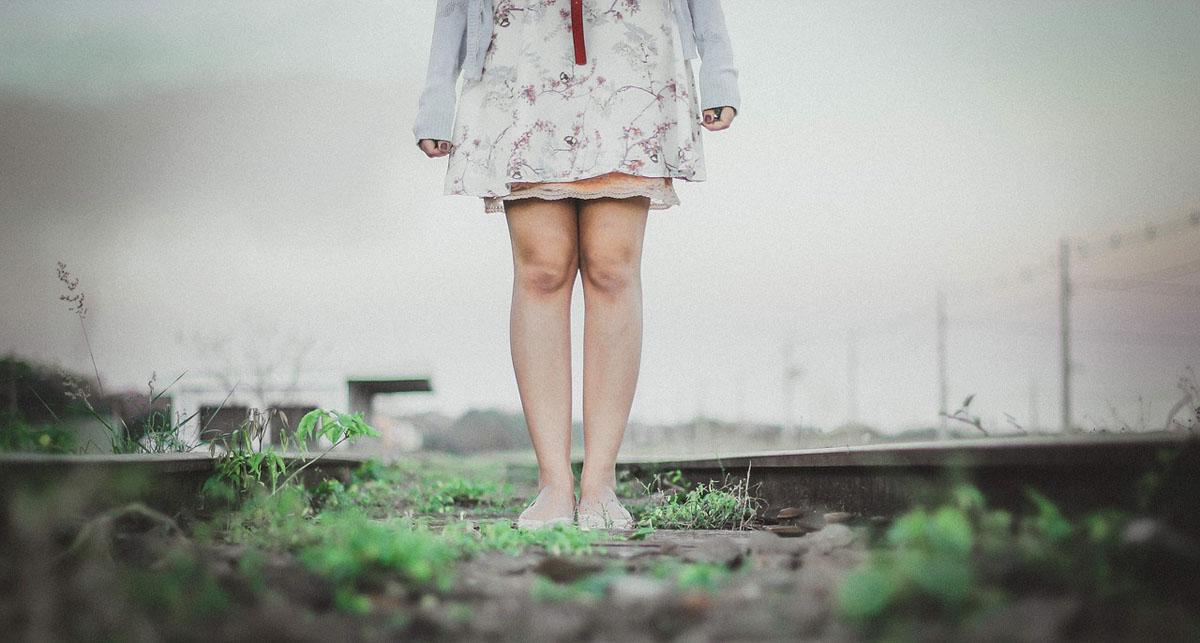 Rüschen Blumenmuster Kleid