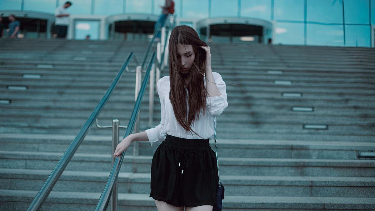 Streetstyle Bluse Shorts