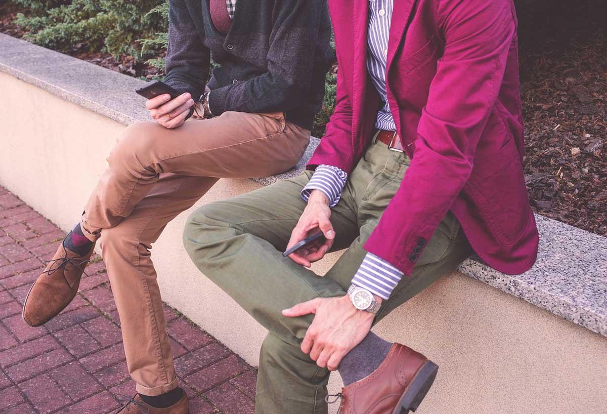 Farbige Jeanshosen Modetrends