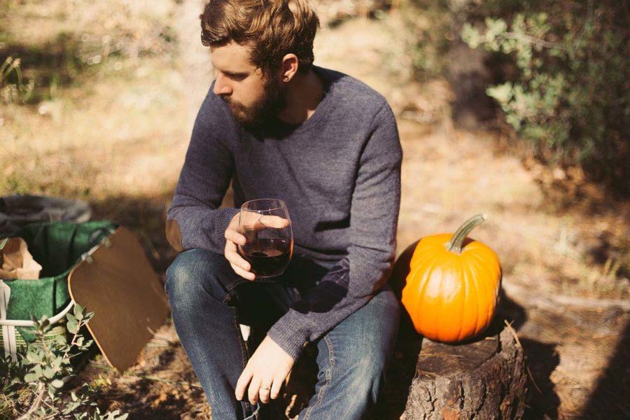 Longsleeve Herrenpullover Herbstlook