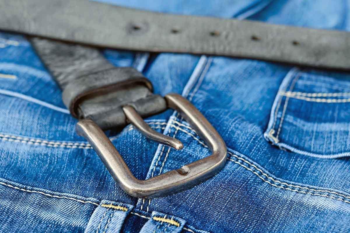 Gürtel Hosenjeans Jeans