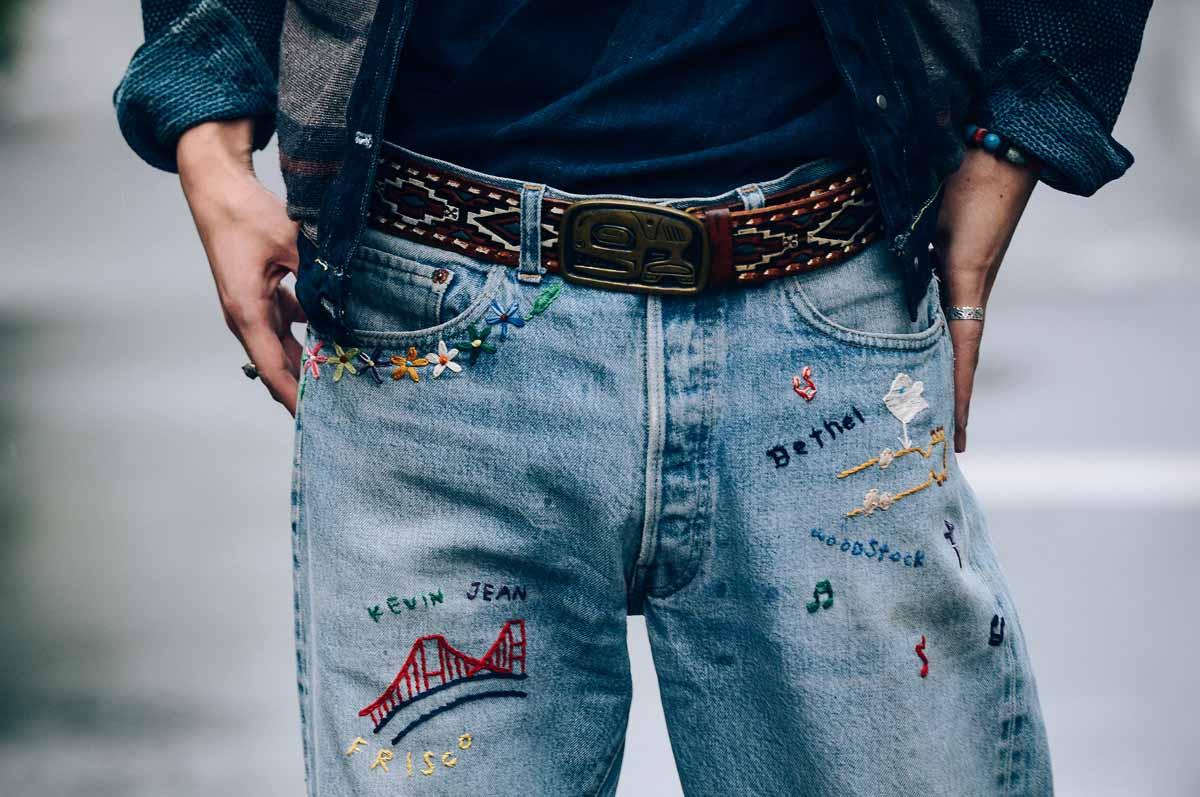 Jeanshose Herrenjeans Modetrend