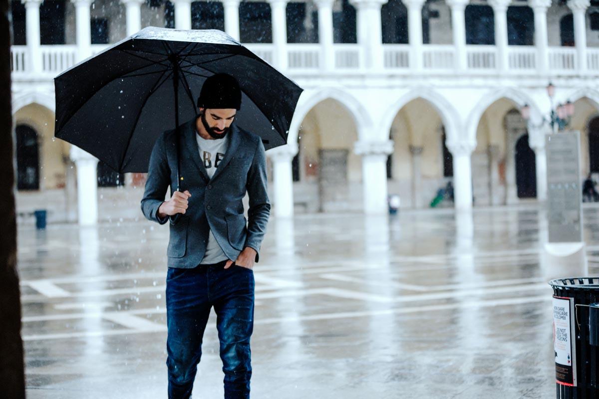 Regenschirm Herrenmode Männerjeans