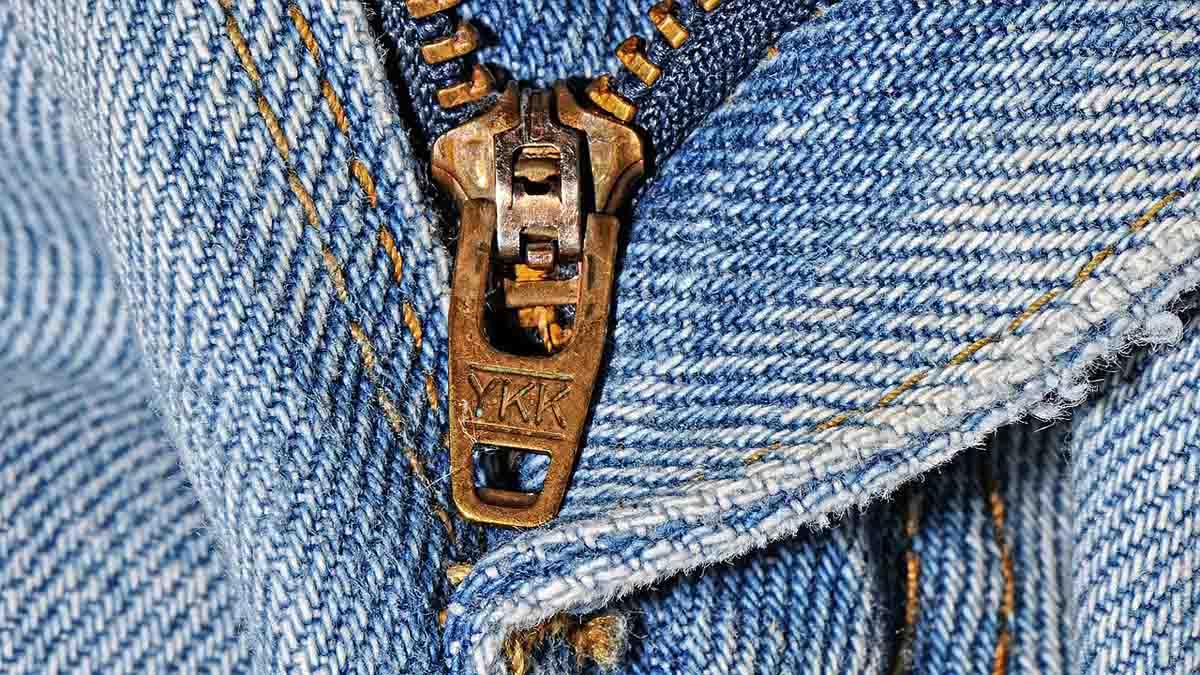 Reißverschluss Jeanshose Jeans