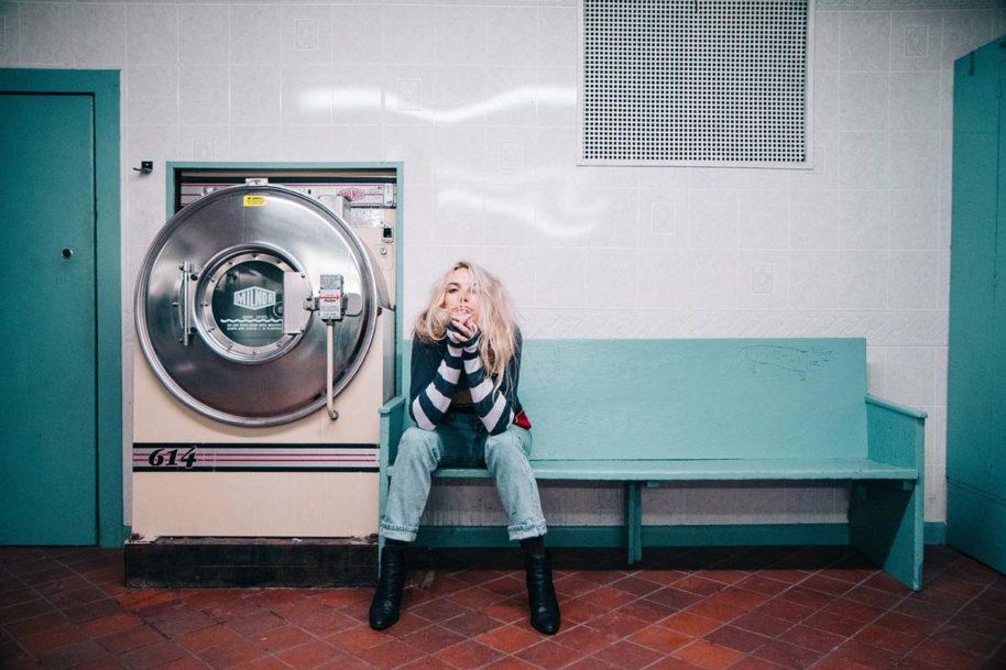 Waschmaschine Jeanshose Streetstyle