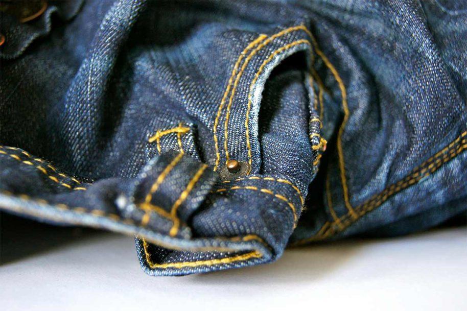 Authentischer Niete für Jeans Hosen