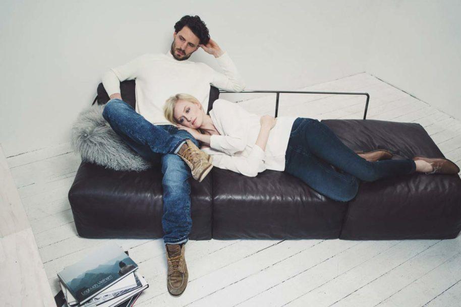 Sofa Paar Paddocks Jeanshose