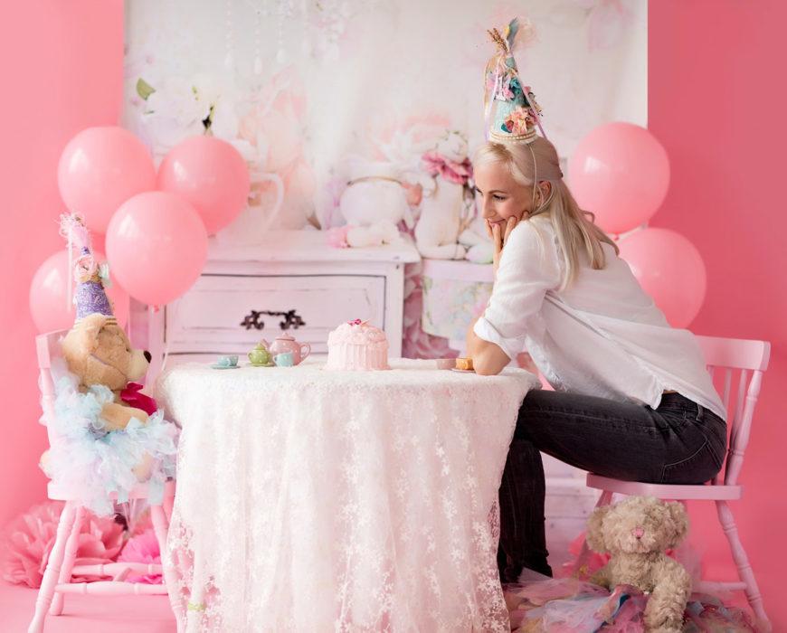 teddybär party jeanhose partyhütchen