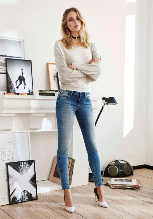 mavi adriana jeans pullover